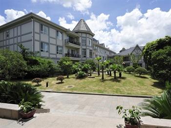 上海虹桥迎宾馆公寓楼外景