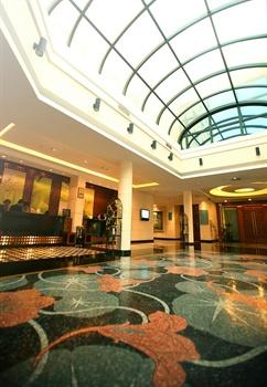 上海园林格兰云天大酒店大堂