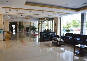 青岛大学国际学术交流中心酒店大堂