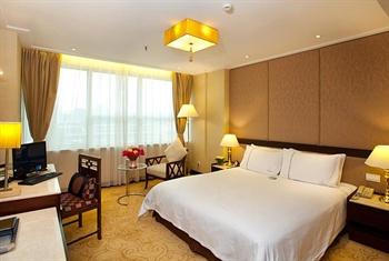 广州流花宾馆豪华套房-卧室