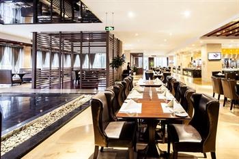 杭州白马湖建国饭店西餐厅