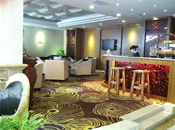 石家庄京州国际酒店大堂吧