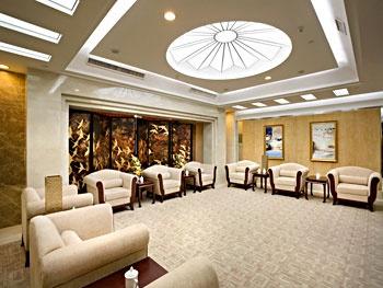 广州燕岭大厦会议厅接待室