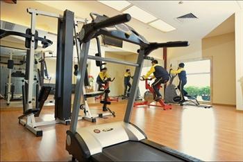 广州花都新世纪酒店健身房
