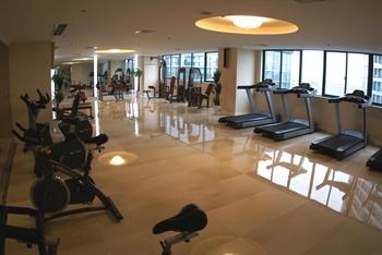 杭州华美达酒店健身房