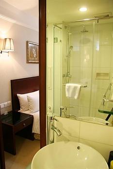 北京香江戴斯酒店经济间-洗手间