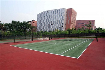 广州白云国际会议中心网球场