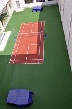 青岛大学国际学术交流中心酒店羽毛球、乒乓球