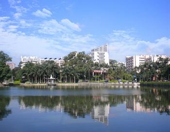 广州华南理工大学西湖苑宾馆外观图片