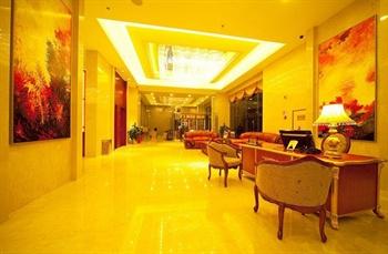 武汉未来城大酒店大堂休息区