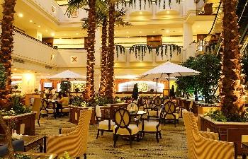 厦门航空金雁酒店大堂咖啡厅