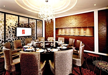 北京丽亭华苑酒店四季中餐厅包房