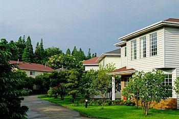 上海园林格兰云天大酒店别墅外观图片