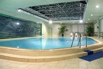 上海建国宾馆游泳池