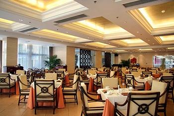 西安建国饭店绿荫阁咖啡厅