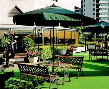 上海建国宾馆花园吧