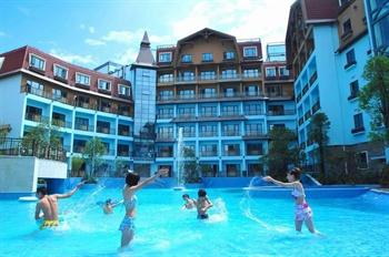 深圳东部华侨城黑森林酒店游泳池