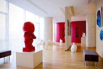 北京首都机场东海康得思酒店艺术画廊