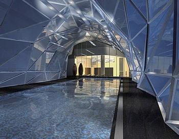 北京雅诗阁来福士中心服务公寓游泳池