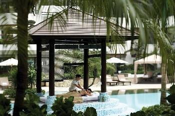 东莞观澜湖度假酒店游泳池