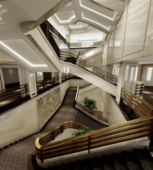 成都诺亚方舟酒店汇聚大厅