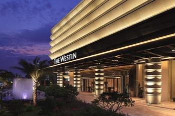广州广交会威斯汀酒店酒店大门图片
