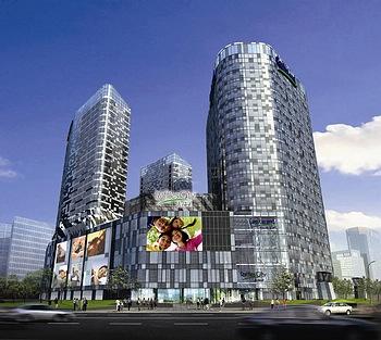 北京雅诗阁来福士中心服务公寓酒店外观图片