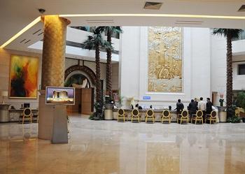上海粤海酒店大堂