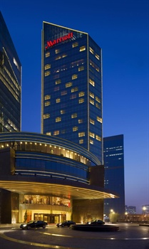 北京海航大厦万豪酒店酒店外景图片