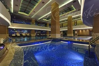 成都凯宾斯基饭店游泳池