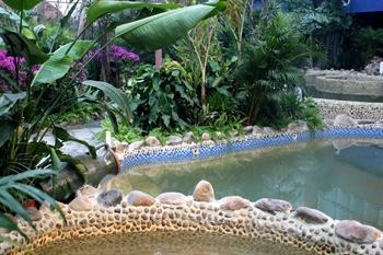 聊城阿尔卡迪亚国际温泉酒店温泉汤池