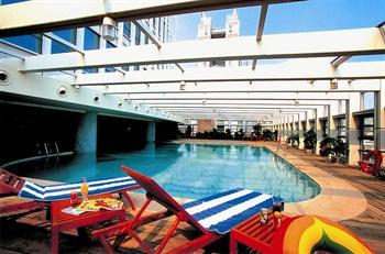 深圳深航国际酒店游泳池