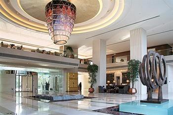 北京丽晶酒店大堂