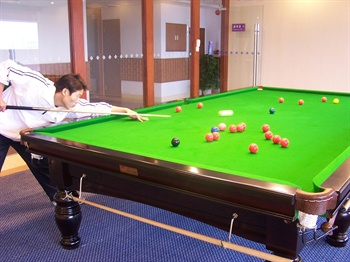 江门丽宫国际酒店桌球室