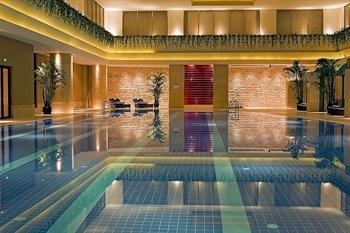 苏州金鸡湖凯宾斯基大酒店游泳池