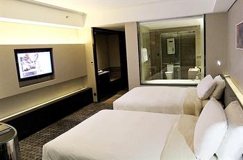 深圳摩登克斯酒店时尚双床房