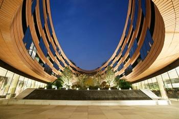 上海衡山路十二号豪华精选酒店酒店外观-中庭花园夜景图片