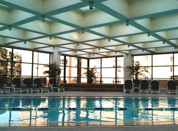 西安金花大酒店游泳池