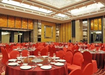 宁波泛太平洋大酒店宴会厅圆桌式
