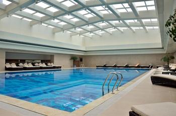 西安曲江国际饭店游泳池