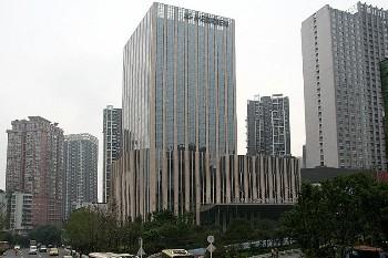 重庆富力艾美酒店酒店外观图片