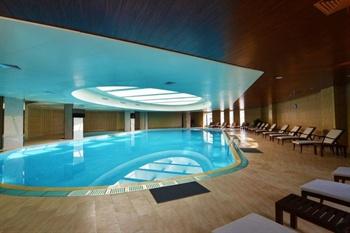 南京金陵新城饭店游泳池
