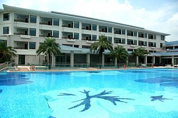 厦门海悦山庄酒店室外无边际泳池