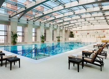 北京万豪行政公寓游泳池