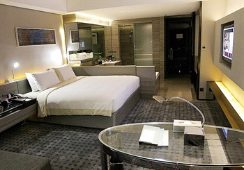 深圳摩登克斯酒店时尚大床房