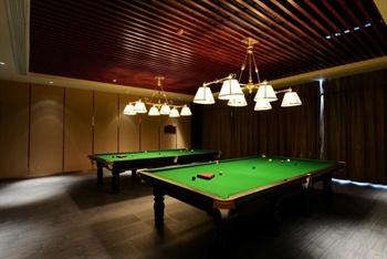 南京金陵新城饭店桌球