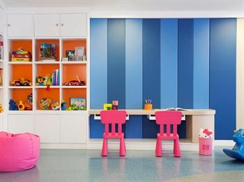 北京万豪行政公寓室内儿童活动室