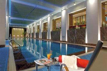 上海裕景大饭店室内游泳池