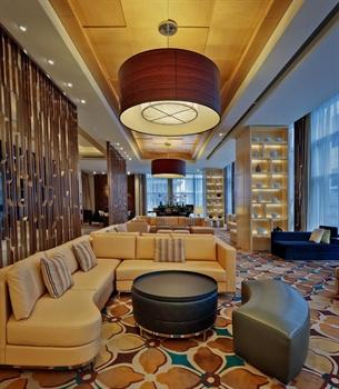 苏州万怡酒店休息区
