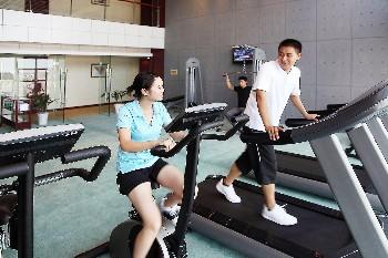 南京武家嘴国际大酒店健身房
